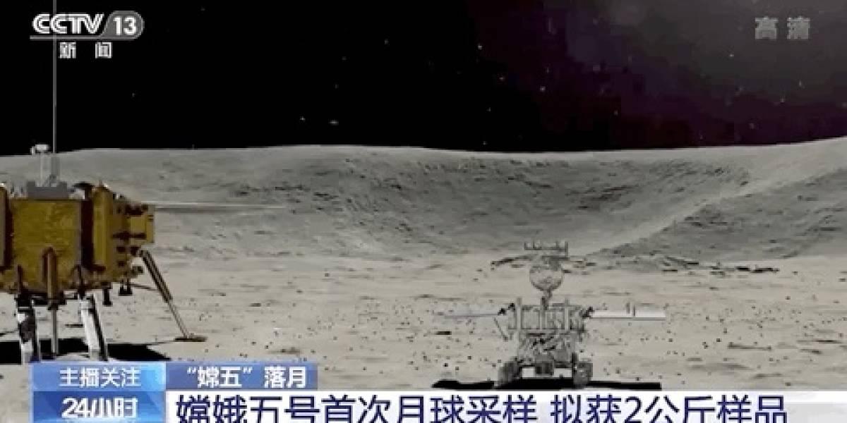 Astronomía: la sonda espacial Chang'e-5 llegó a la Luna con éxito y comenzará el proceso de recolección de muestras