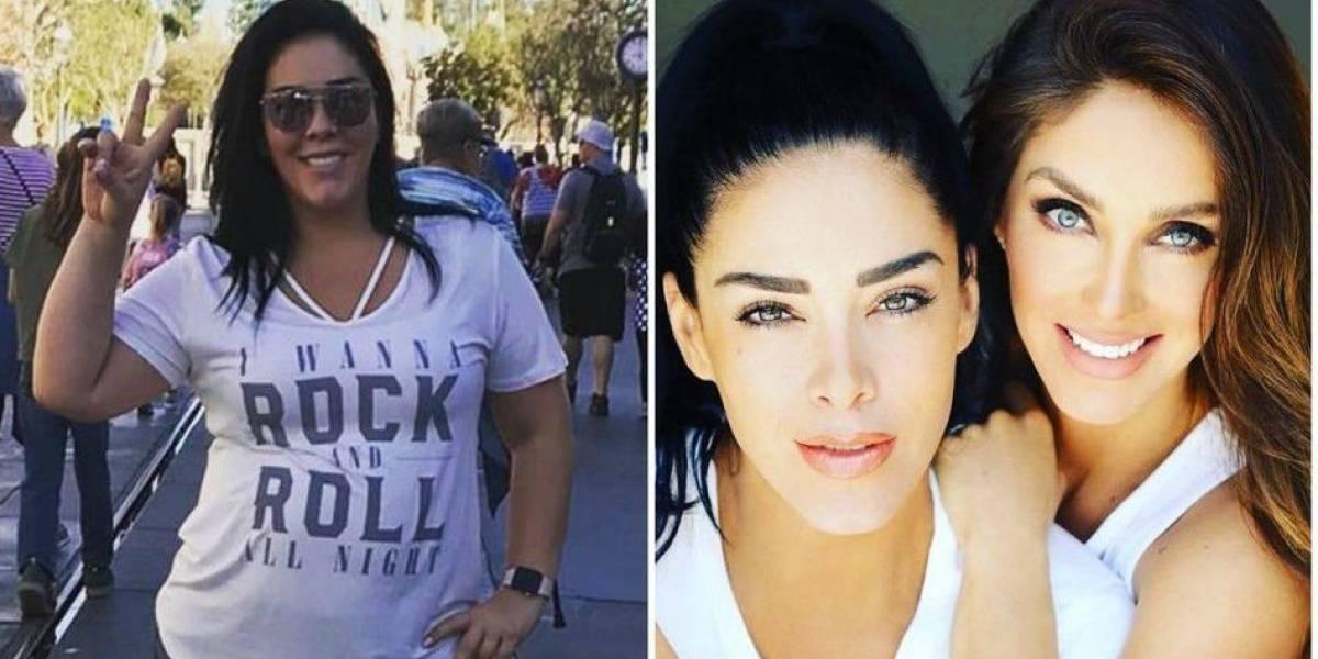 Marichelo, hermana de Anahí, luce increíble cambio físico tras rigurosa dieta