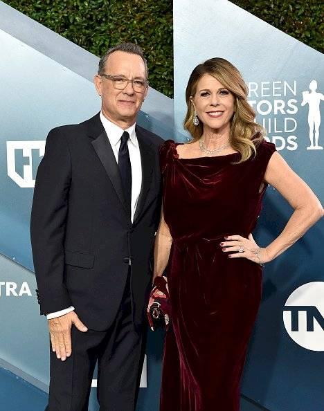 Rita Wilson y su esposo Tom Hanks
