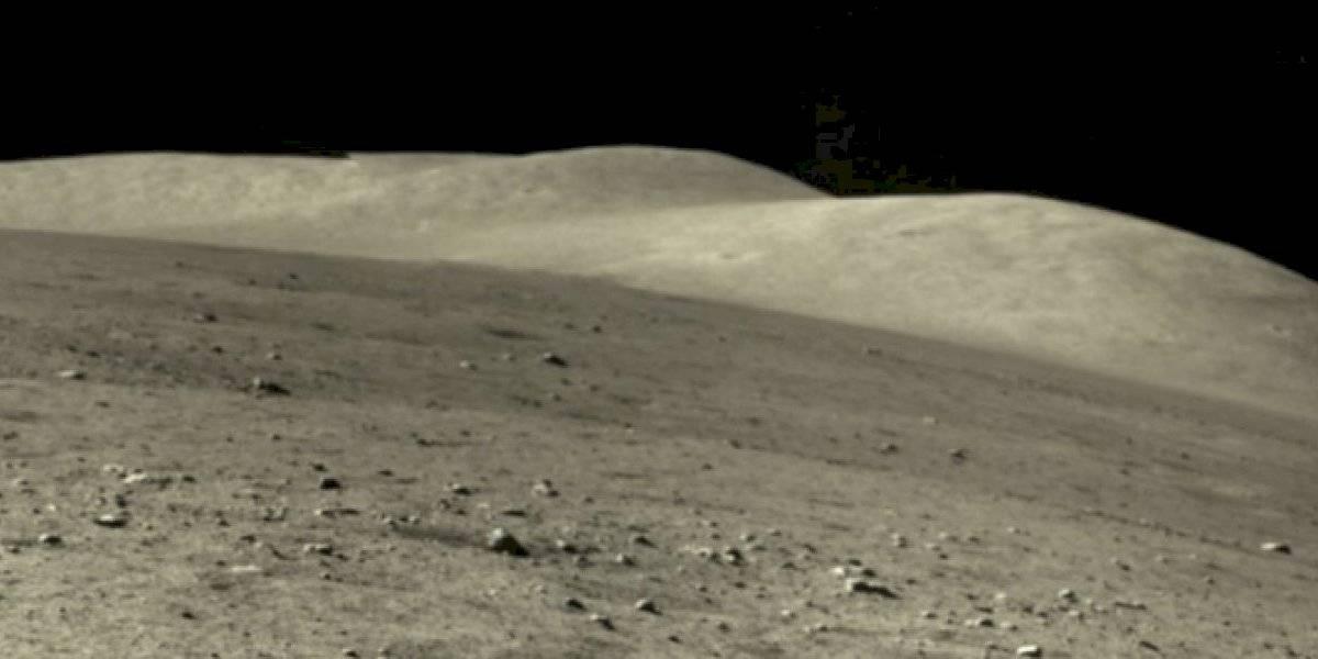 China revela espectacular panorama de la superficie de la Luna