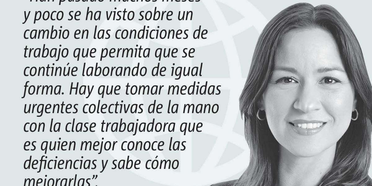Opinión de Rosa Seguí: La urgencia de una respuesta colectiva