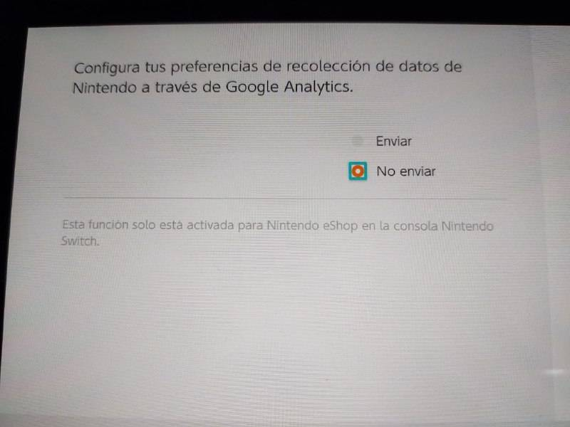 Nintendo Google datos