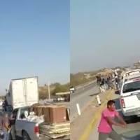 """Amenazan con pistola a adulto mayor para pagar """"cuota voluntaria"""" en carretera de Sonora"""