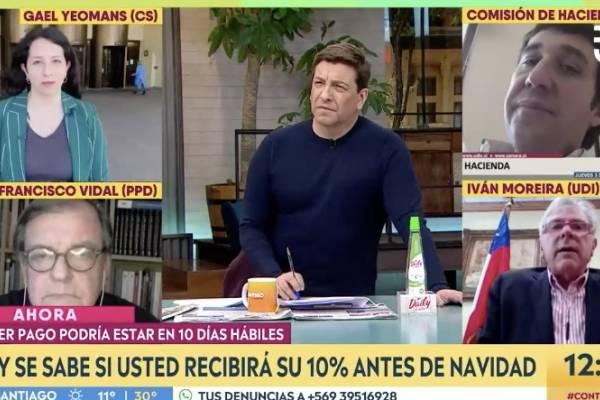 """Moreira se agarró con Julio César Rodríguez: """"Me has tenido censurado todo el programa"""""""