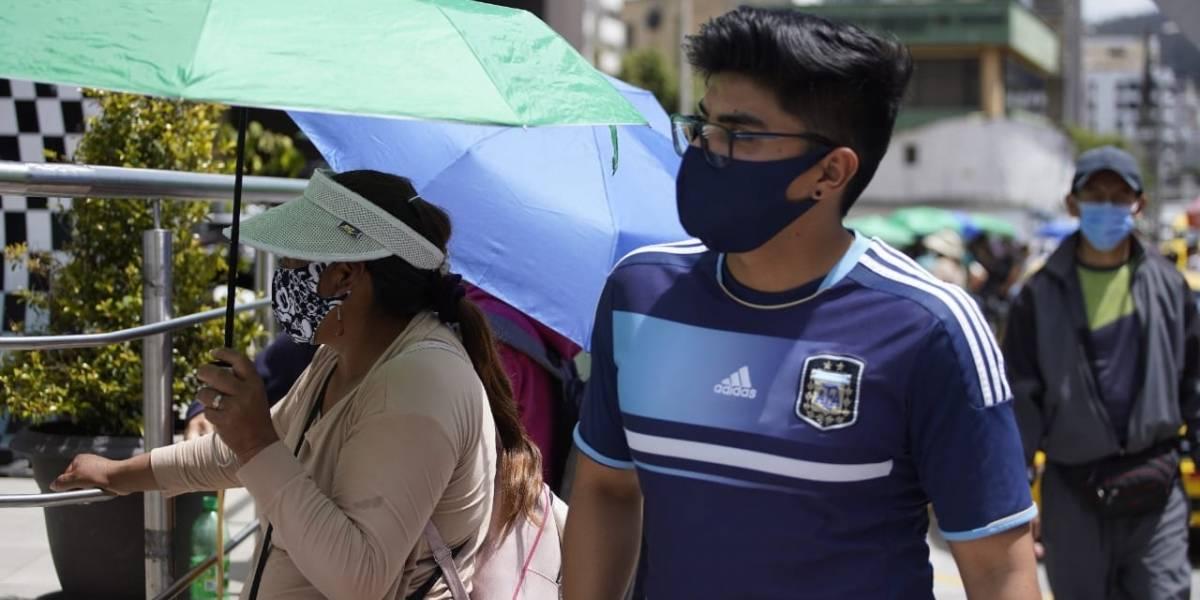 Ecuador registra menos casos de Covid-19 en las dos últimas semanas