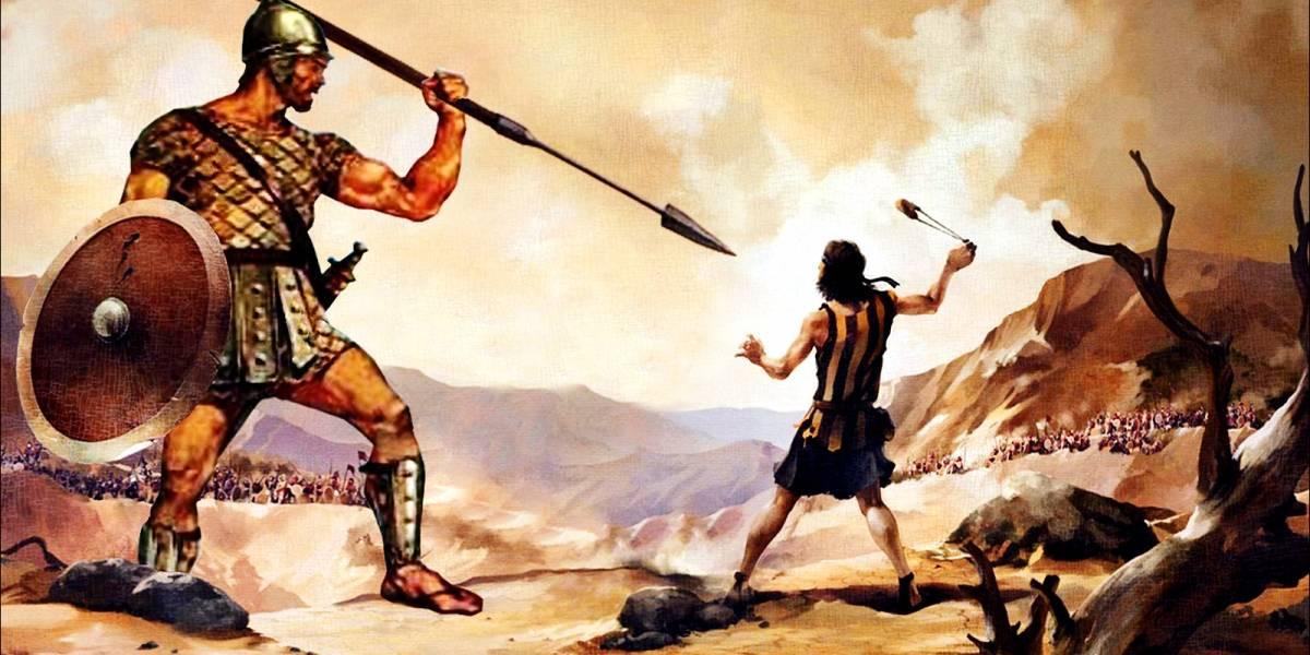 Goliat pudo no ser un gigante, según estudios científicos