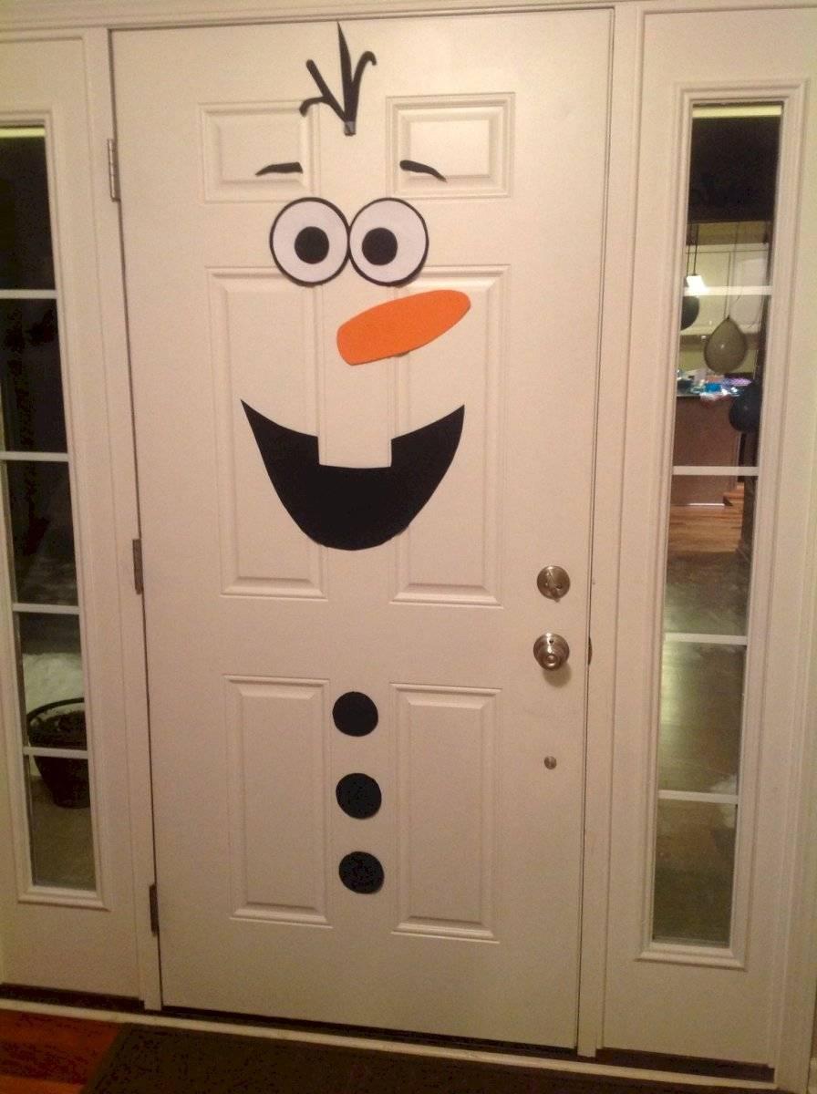 Olaf es uno de los personajes más simpáticos de la navidad y puede ser un gran aliado en la decoración.