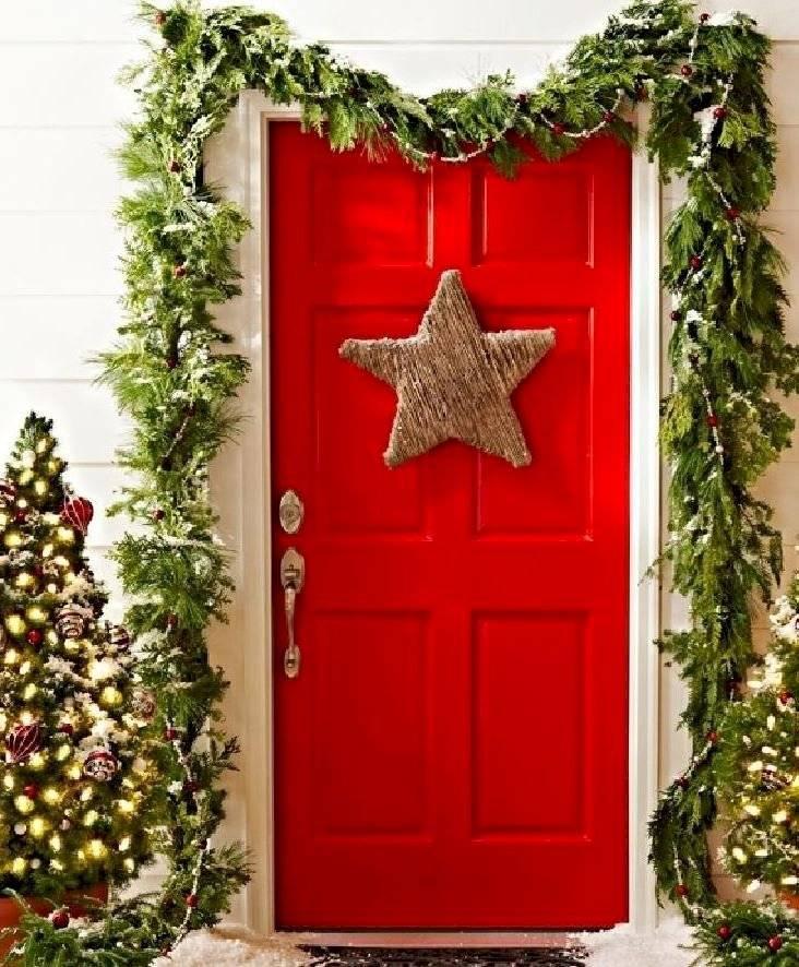 El color rojo y verde nunca falta en la navidad.