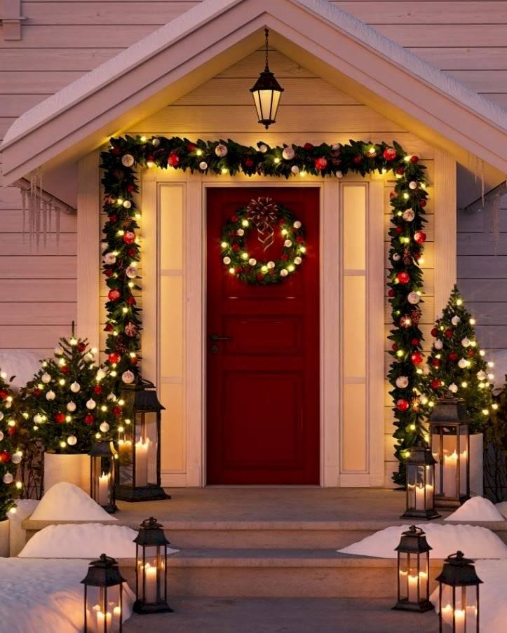 Las velas pondrán una nota elegante en cualquier estancia, así sea cerca de la puerta.