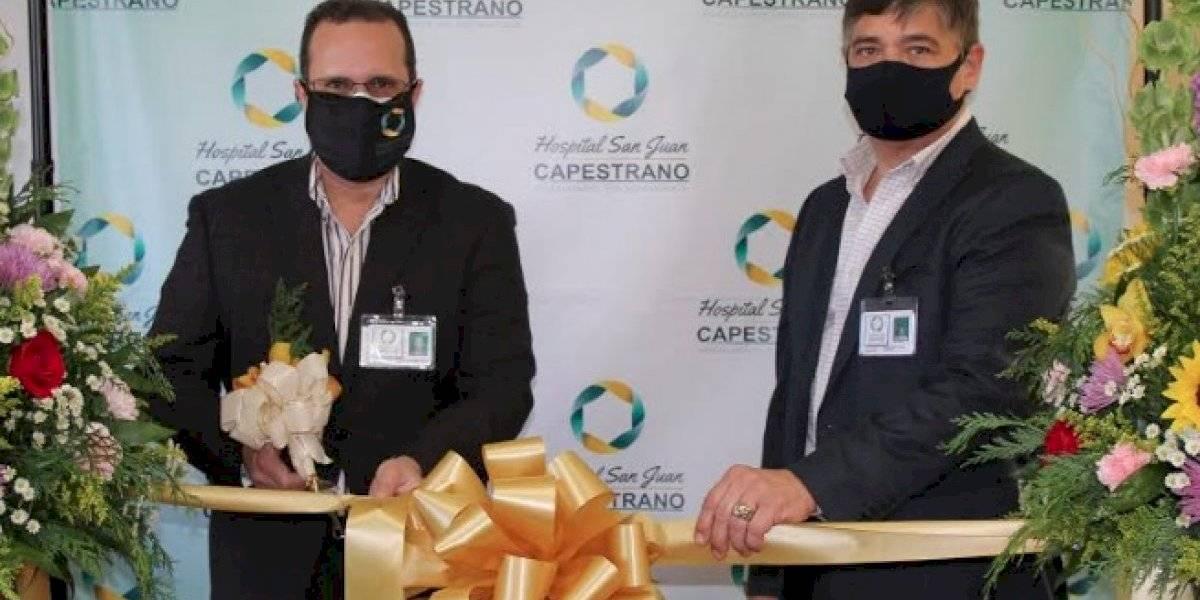 San Juan Capestrano inaugura Clínica hospitalización parcial