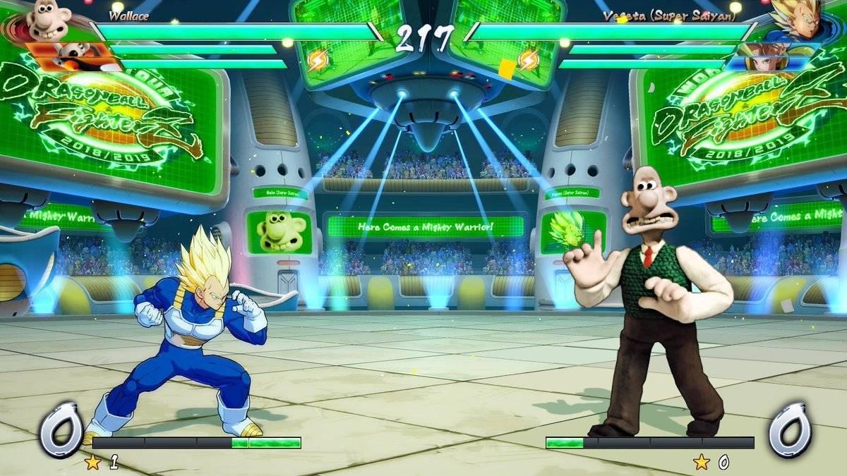 Bandi Namco Aardman Animation