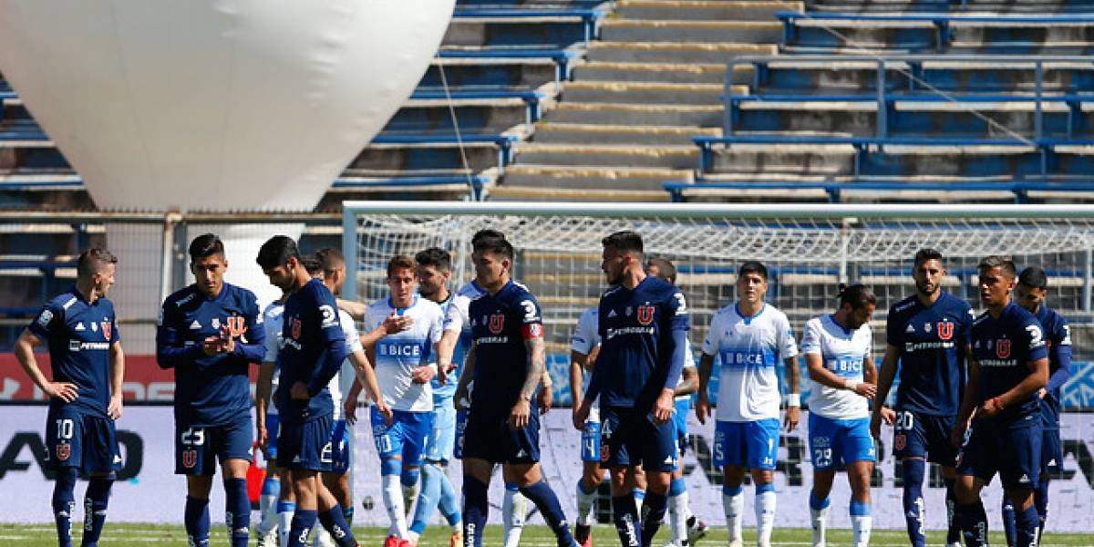 ANFP confirmó la suspensión del Clásico Universitario entre la U y la UC