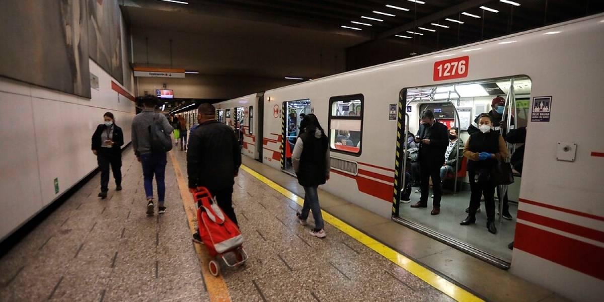 Metro tuvo que cerrar estaciones de la Línea 2 por emergencia química