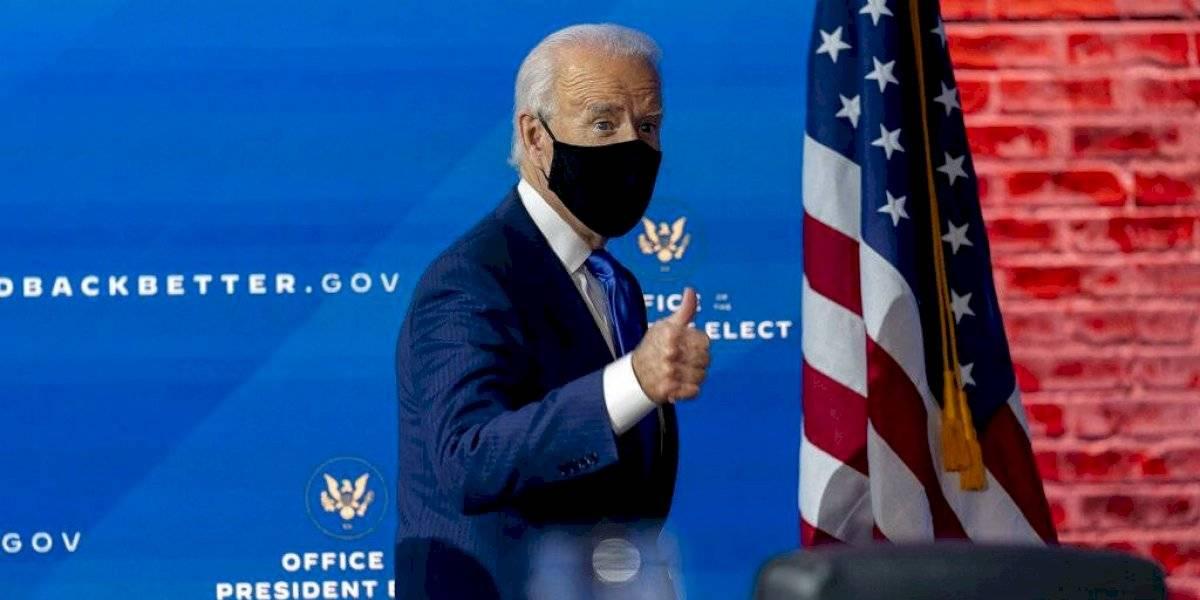 """Biden anuncia que EE. UU. se reincorporará al Acuerdo de París en el """"primer día"""" de su presidencia"""