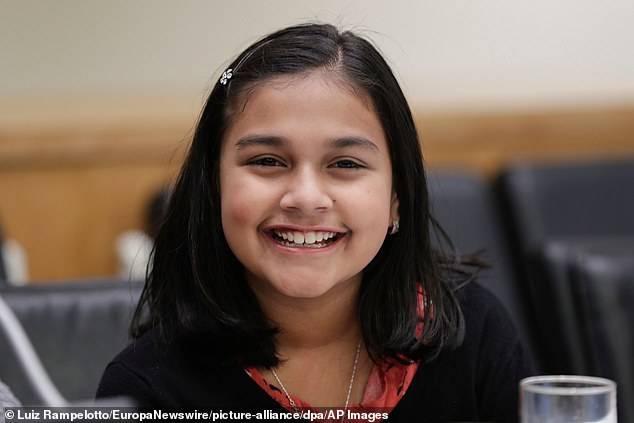 Gitangali Rao, la Joven del Año para la revista Time.
