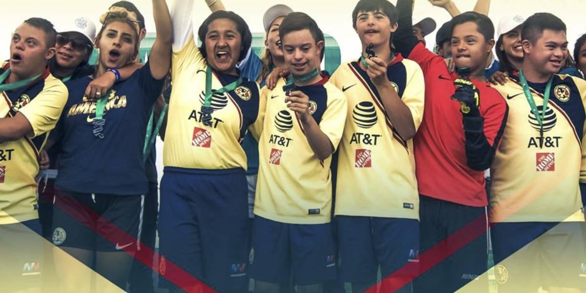 América resalta a su equipo categoría especial en el Día de la Discapacidad