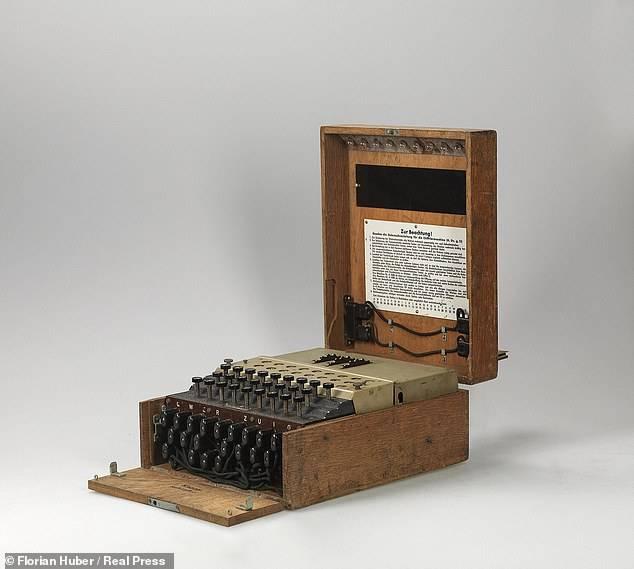 Máquina Enigma.