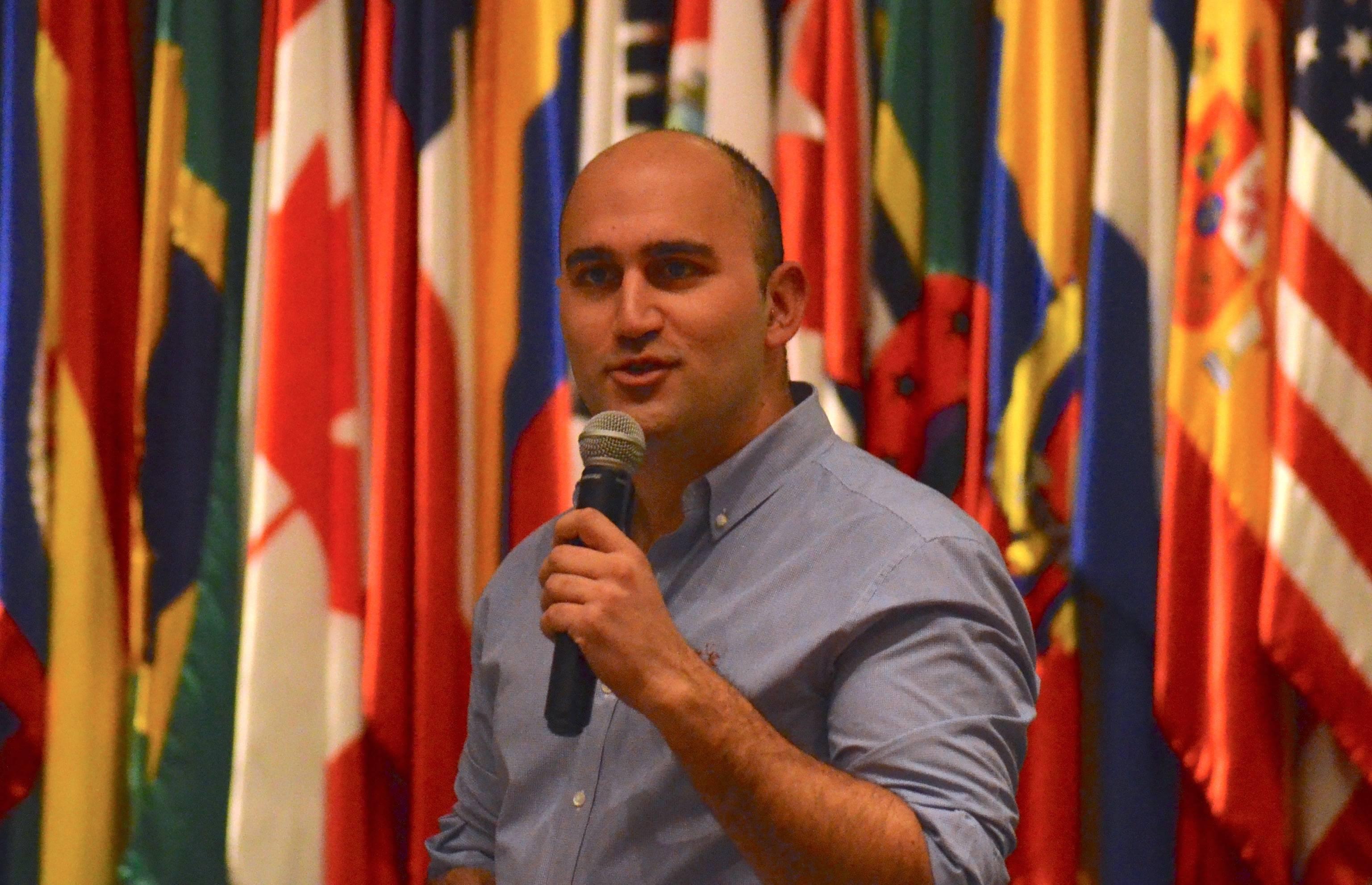 Felipe Tobar, uno de los ganadores de la beca otorgada por Google.