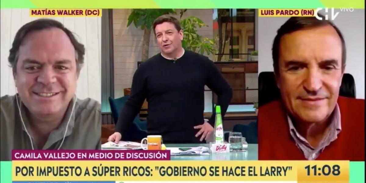 """Julio César Rodríguez: """"Estuve en un asado con los súper ricos y, al parecer, nadie les ha preguntado por el impuesto"""""""