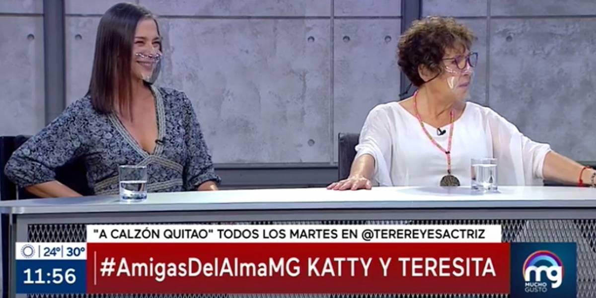 """Se enojó Teresita Reyes: la invitaron a """"Mucho Gusto"""" y estuvo menos de 10 minutos al aire"""