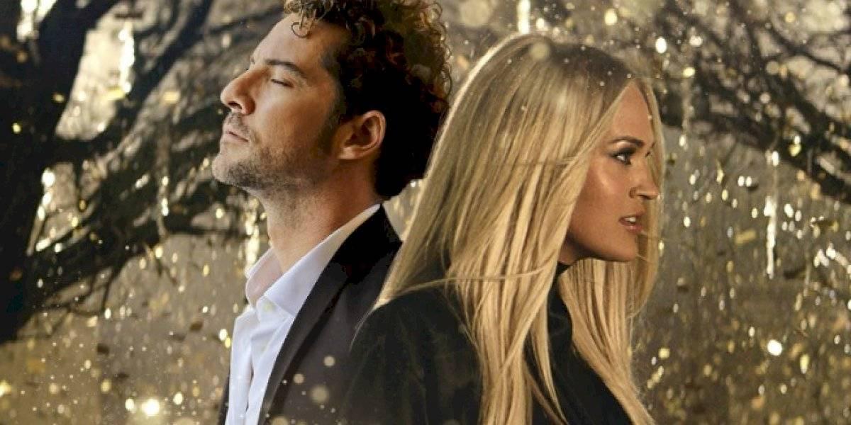 """David Bisbal y Carrie Underwood unen sus talentos en el sencillo bilingüe """"Tears of Gold"""""""