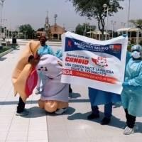 Divertida campaña peruana contra el VIH da la vuelta al mundo en redes