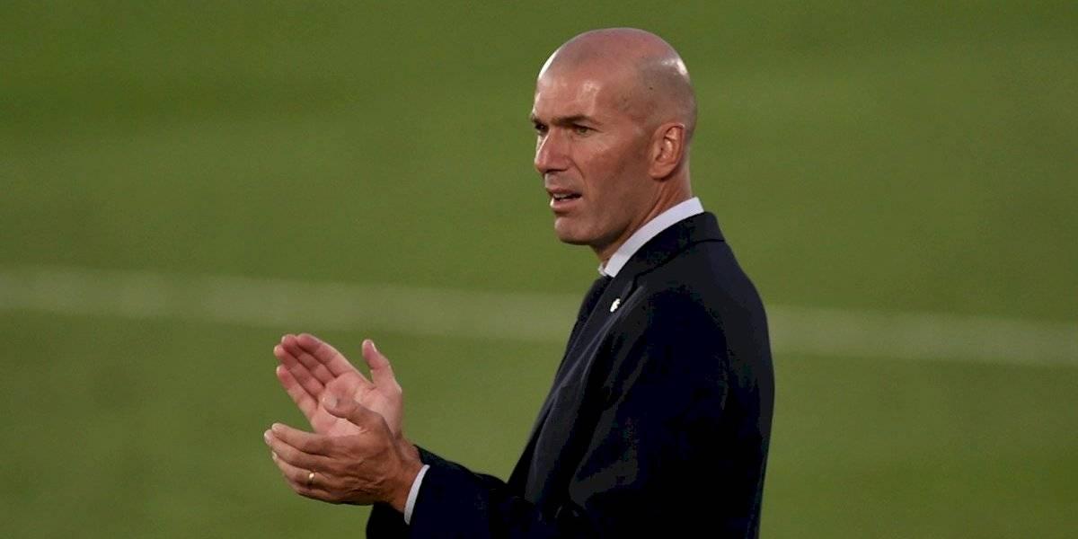 Zinedine Zidane da negativo en la prueba PCR