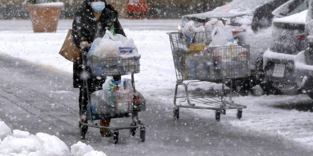 Primera gran tormenta invernal amenaza noreste de Estados Unidos