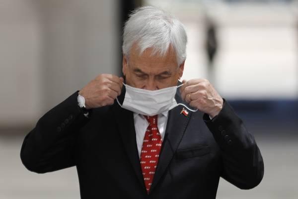 Imágenes de Presidente Piñera en Cachagua sin mascarilla encienden las redes sociales