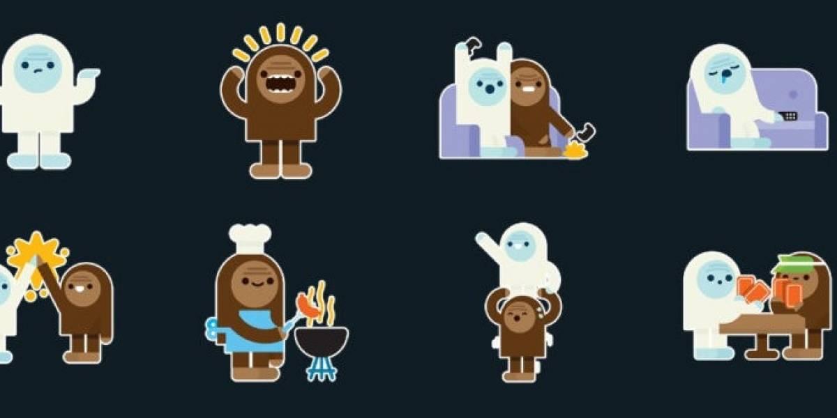 WhatsApp: el Yeti tiene sus propios stickers y así puedes conseguirlos