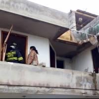 Explosión por acumulación de GLP en Tumbaco dejó una persona herida
