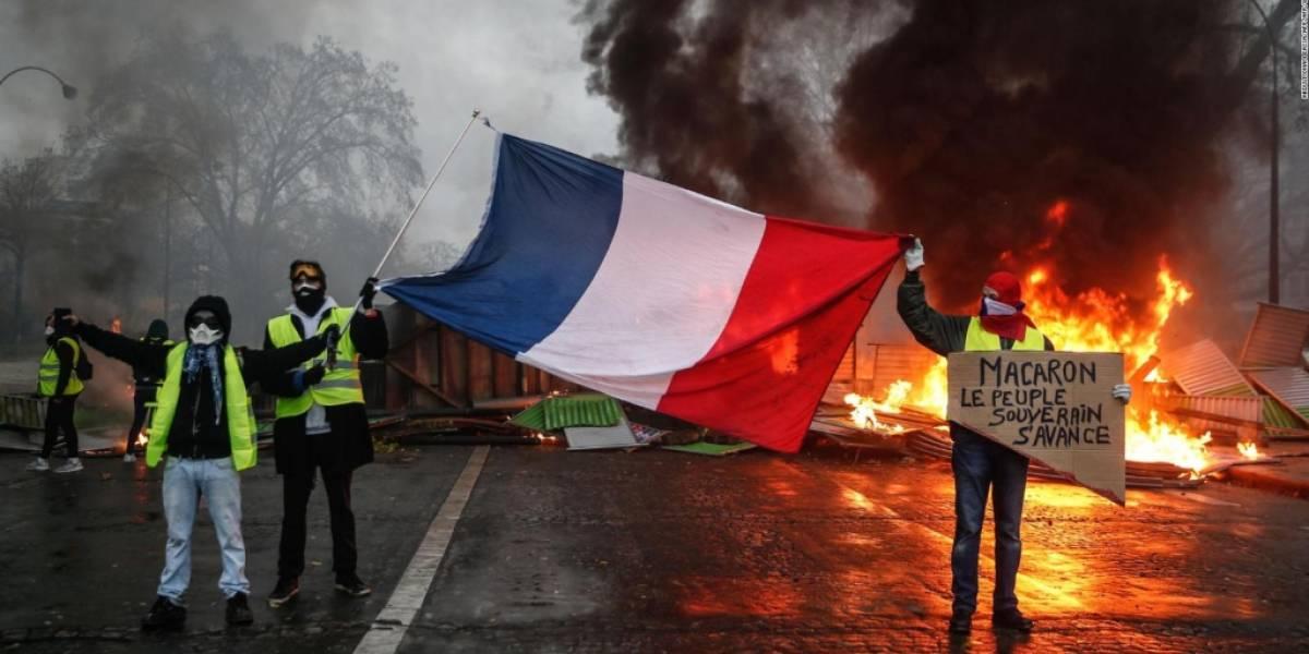 Se agudiza la revuelta francesa por nueva Ley de Seguridad: un centenar de detenidos en distintas ciudades
