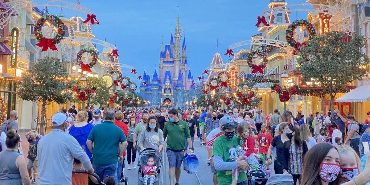 ¿Es seguro visitar Disney World esta Navidad 2020?