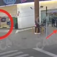 ¡El ladrón más despistado del mundo! Roba farmacia custodiada por más de diez policías