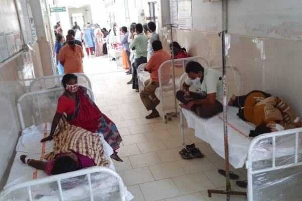Investigan misteriosa enfermedad en India: reportan al menos 200 personas hospitalizadas