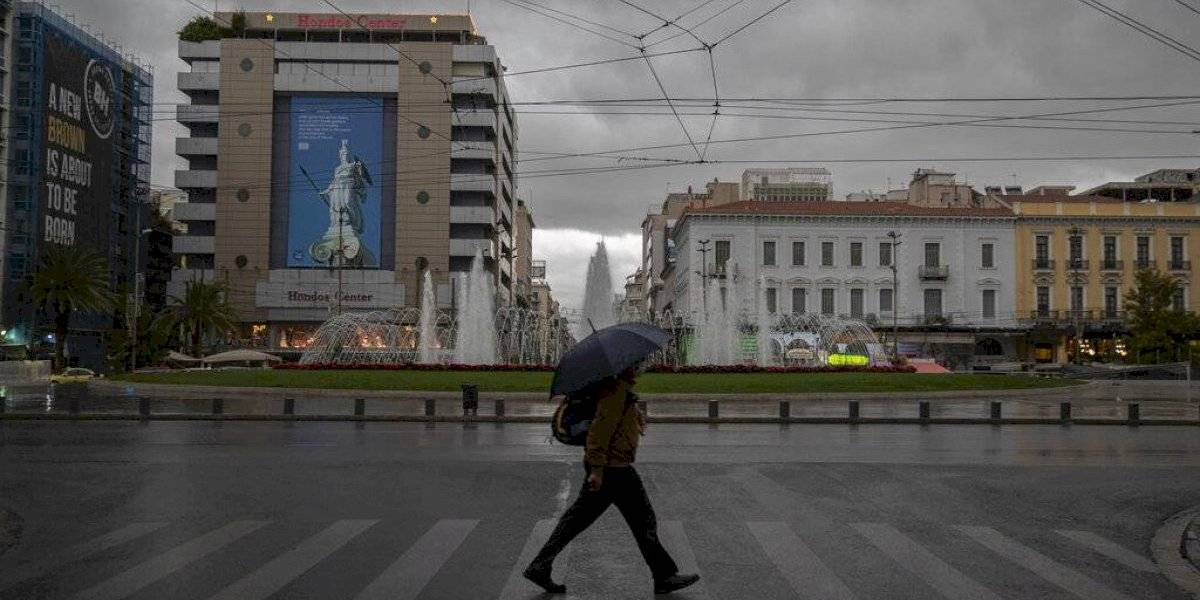 Hasta enero: Grecia extiende confinamiento por la pandemia