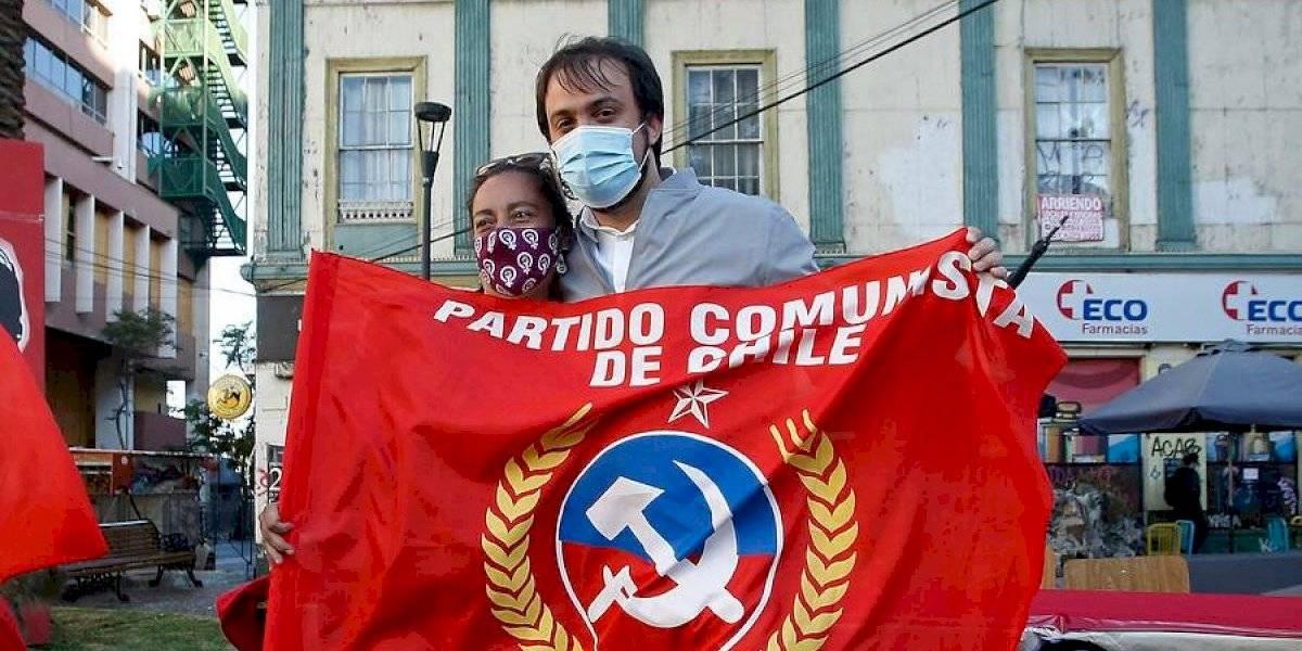 Jorge Sharp recibió oficialmente el apoyo del Partido Comunista para la reelección en Valparaíso