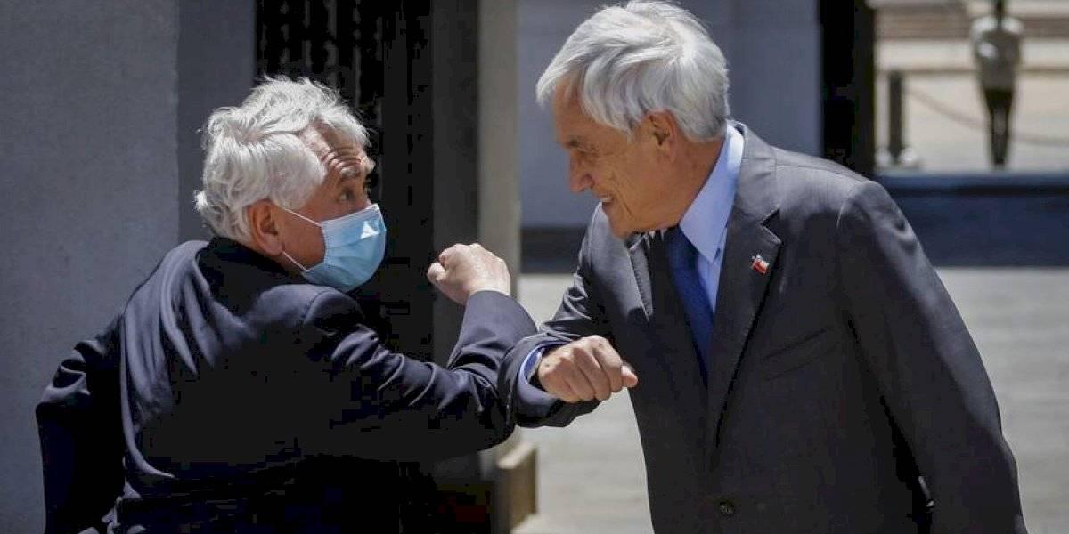 """Paris defiende a Piñera tras su paseo sin mascarilla: """"Quiero valorar su respuesta y la forma en cómo ha reaccionado"""""""