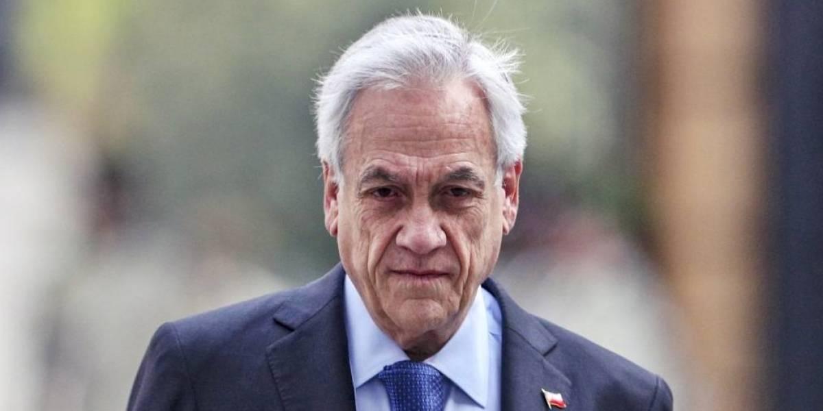 Presidente de Chile se denunciará a sí mismo por salir sin mascarilla