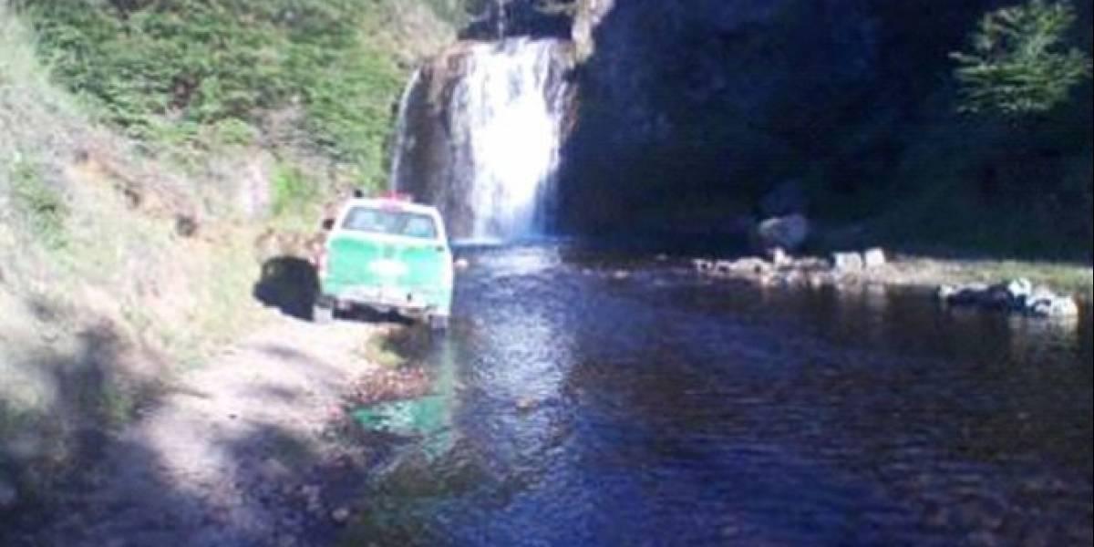 Joven de 20 murió tras salvar a su polola en cascada de Aysén