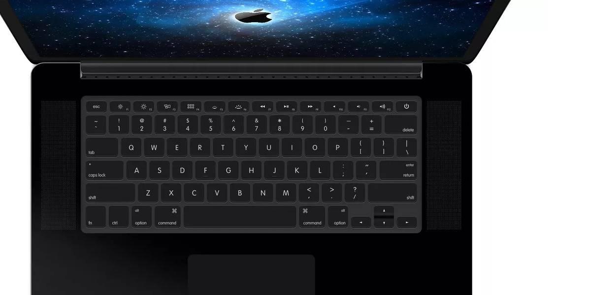 Apple trabajaría en una MacBook de color negro mate exclusivo