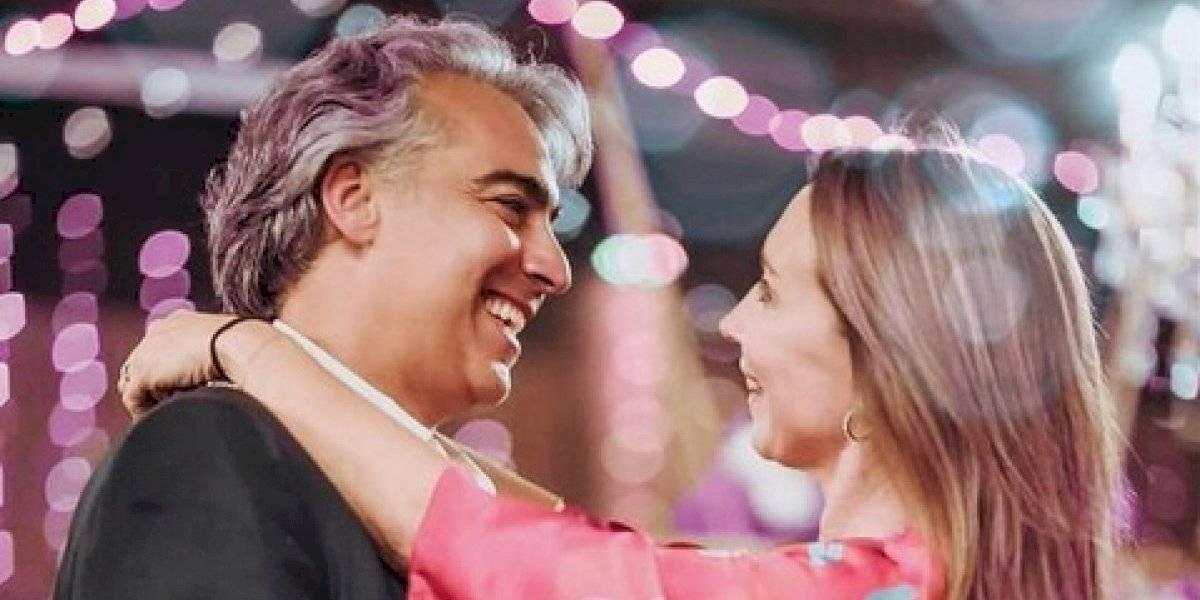 """Karen Doggenweiler le dedicó una romántica foto a Marco Enríquez Ominami: """"Te amo, hasta el infinito y más allá"""""""