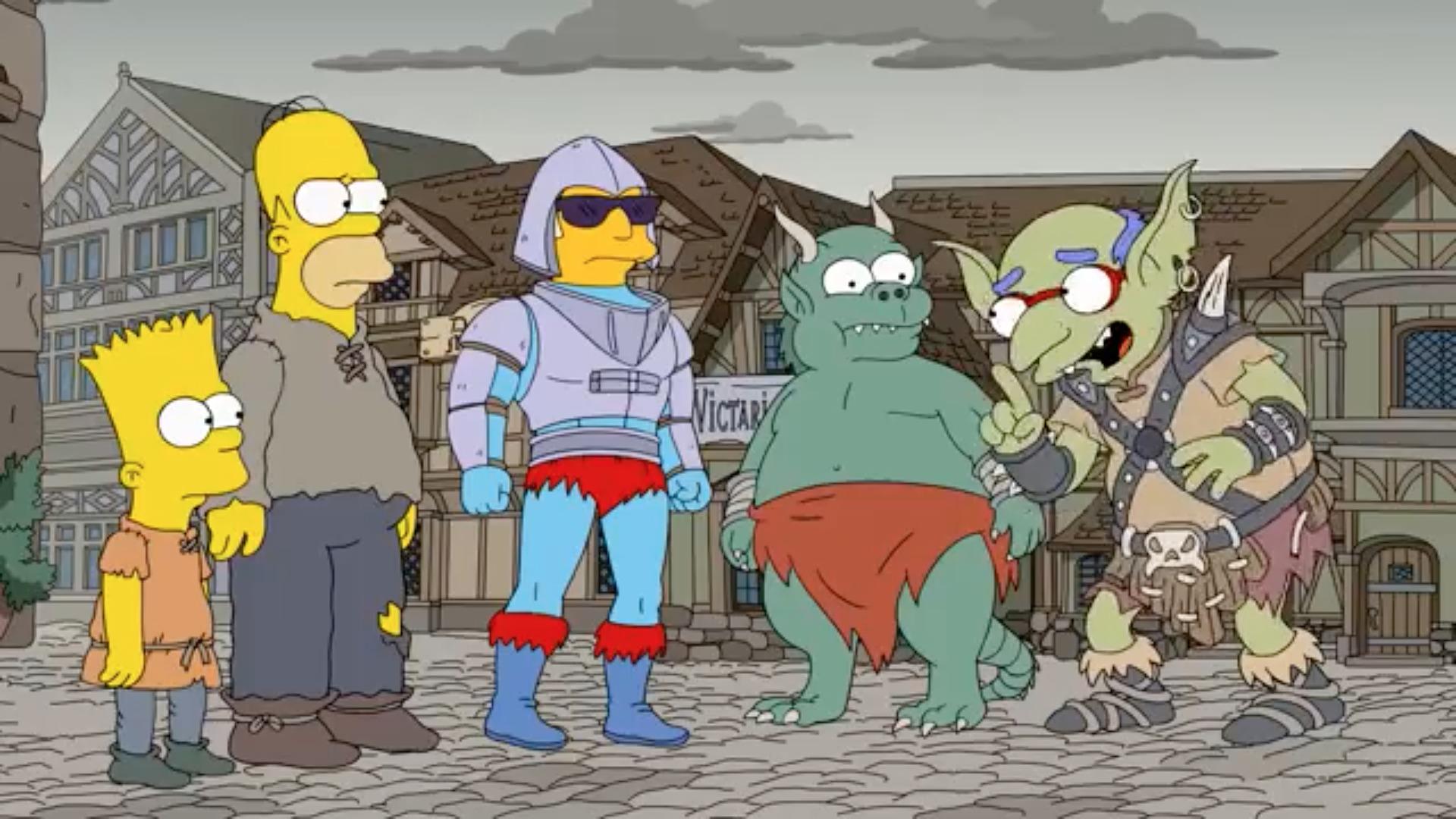 Los Simpson criaturas sobrenaturales