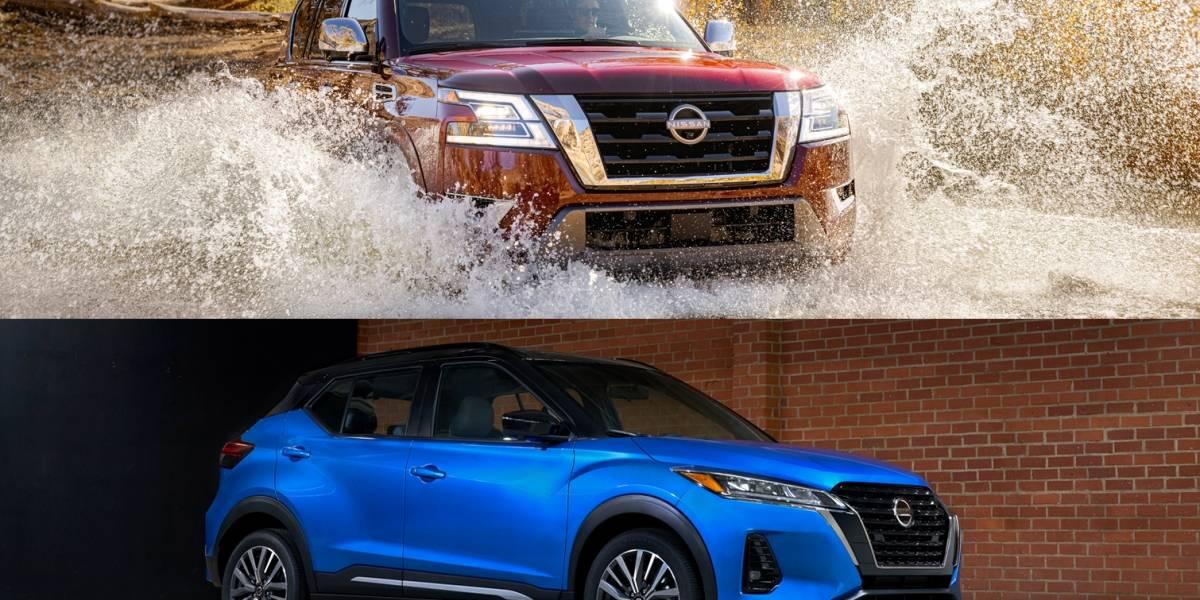 Presentan los nuevos modelos Nissan Armada y Kicks 2021