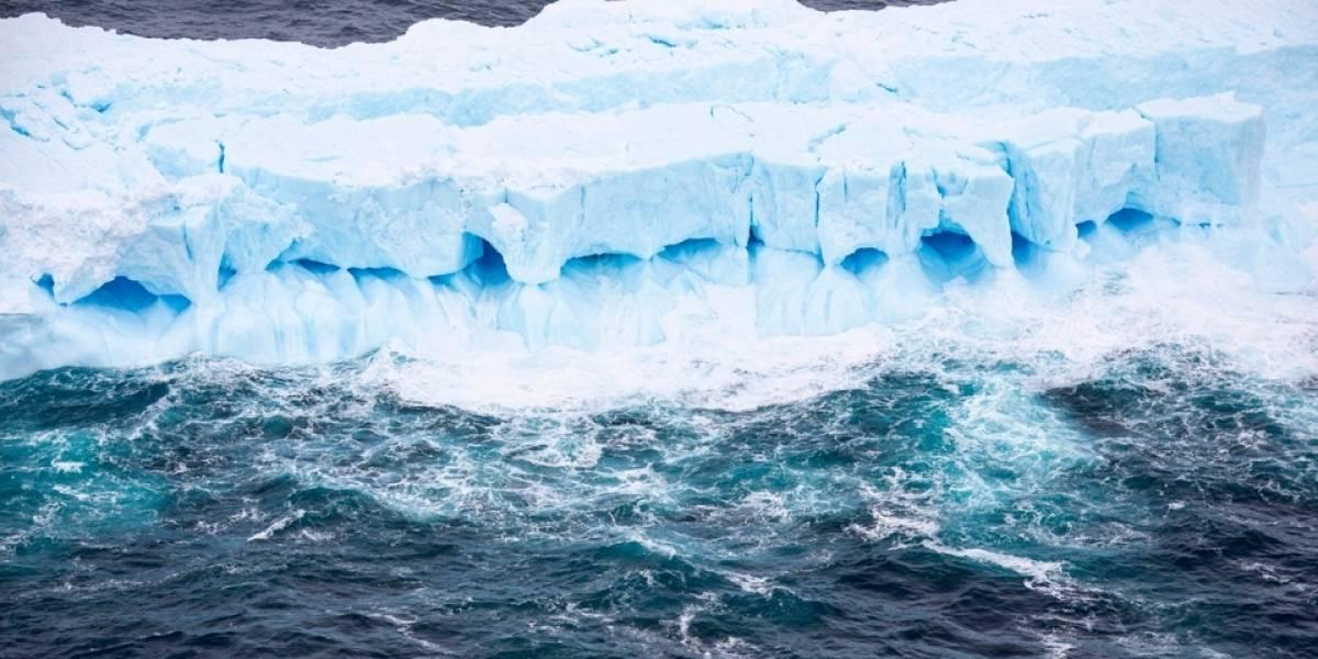 Video aéreo muestra cómo el iceberg más grande del mundo se acerca a las costas y amenaza a las focas y pingüinos