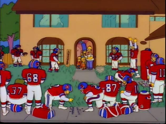 Los Simpson Homero millonario