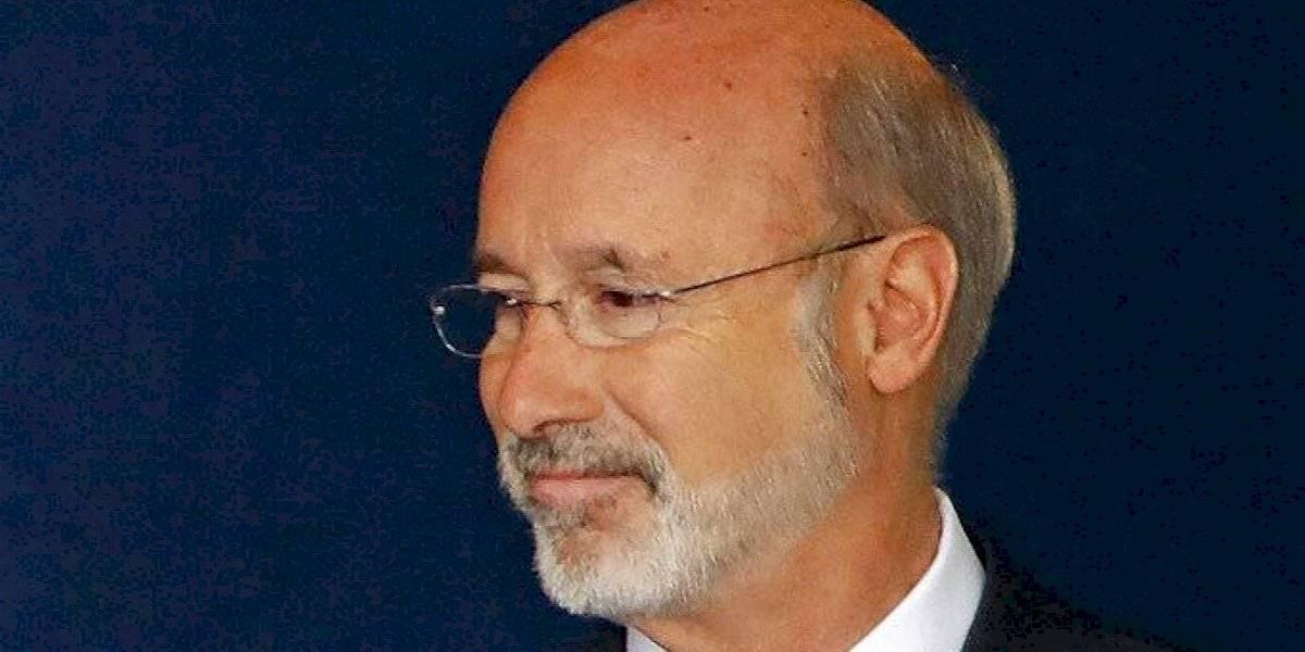 Gobernador de Pensilvania da positivo a coronavirus