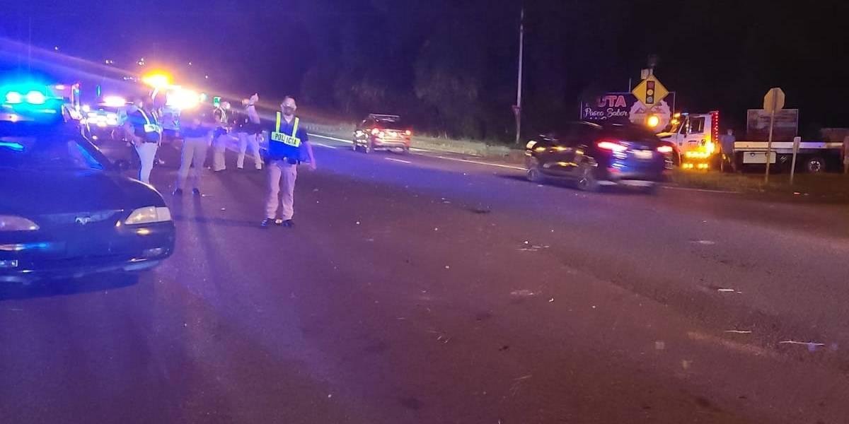 Accidente grave en Aguada deja dos adultos y un menor lesionados