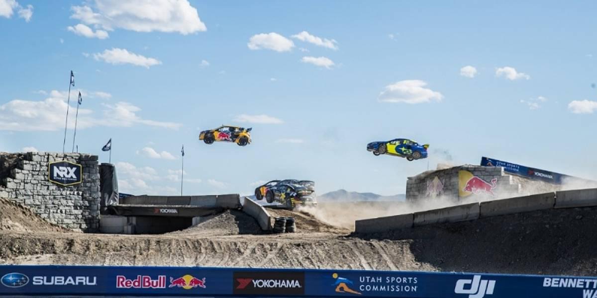 Nitro Rallycross: Esta es la planificación de la carrera de autos eléctricos de Travis Pastrana