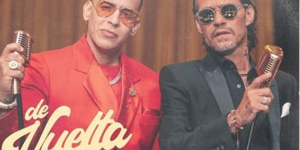 Marc Anthony es el artista sorpresa con el que Daddy Yankee grabó un tema